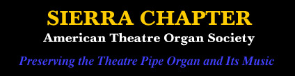 Sierra Chapter, American Theatre Organ Society