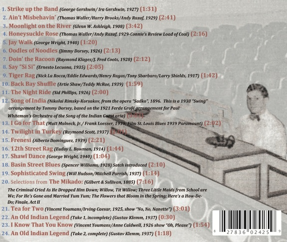 George Wright CD